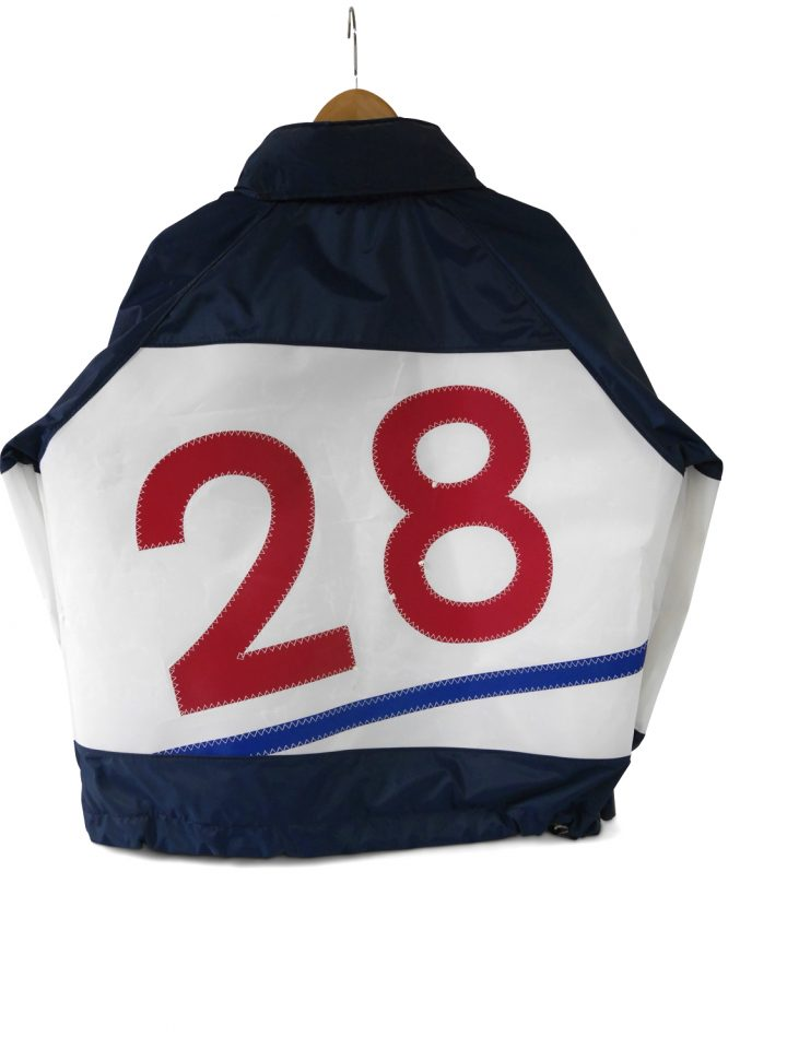 Fairweather Jacket with Sail Number-591