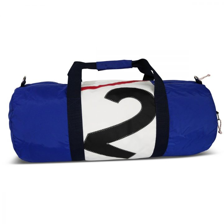 RS Round Duffle with Sail Number-1486