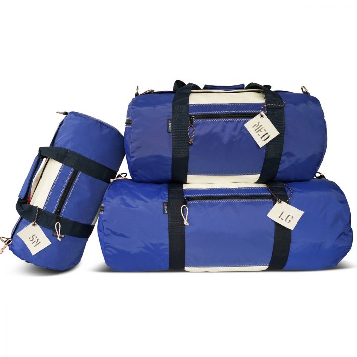 RS Round Duffle with Sail Number-1483