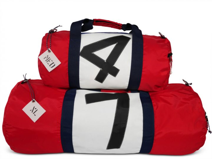 RS Round Duffle with Sail Number-1487