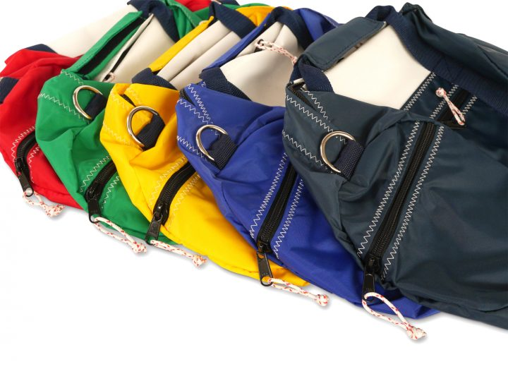 RS Round Duffle with Sail Number-398
