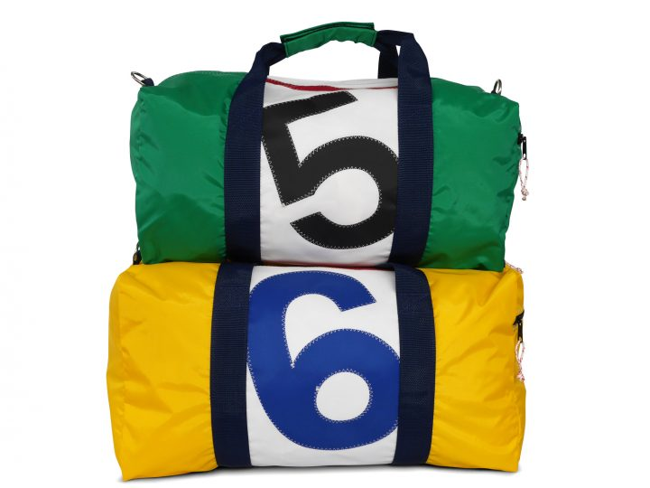 RS Square Duffle with Sail Number-382