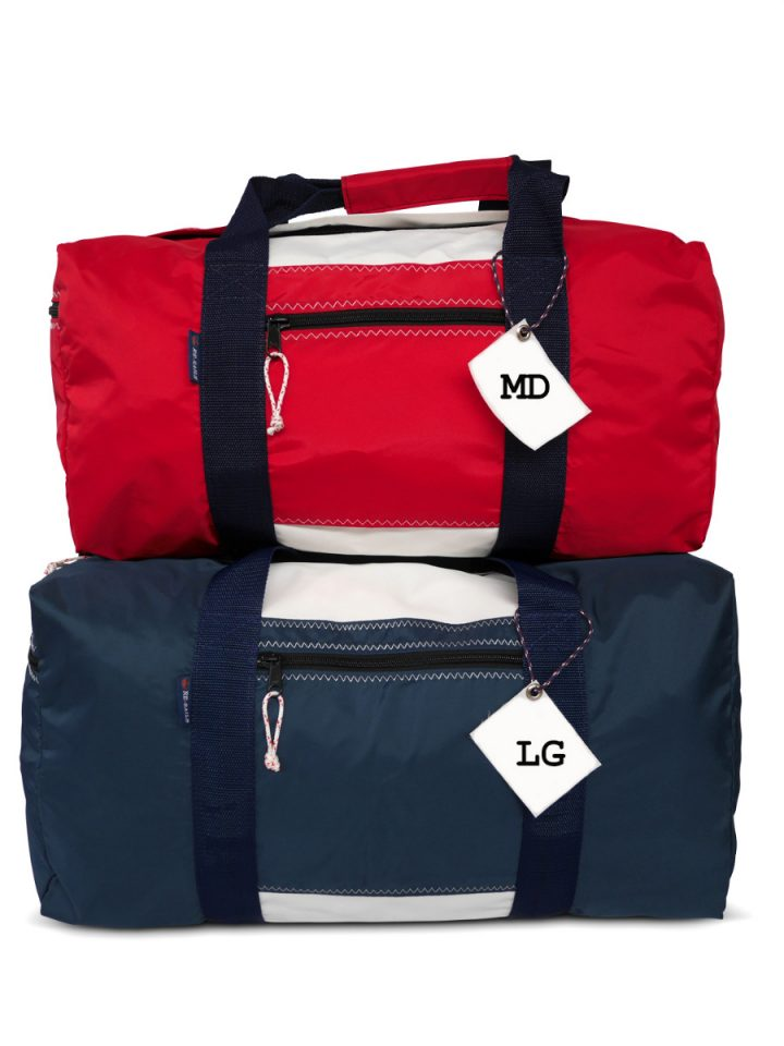 RS Square Duffle with Sail Number-1601