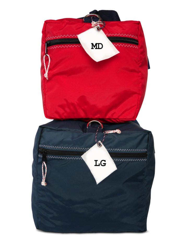 RS Square Duffle with Sail Number-1602