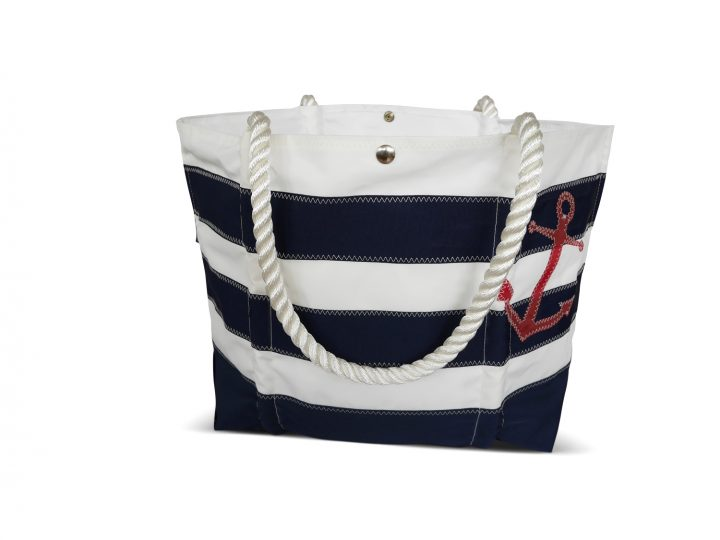 Striped Rope Tote -582