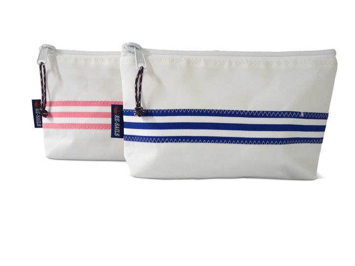 Ribbon Zip Pouch-1097