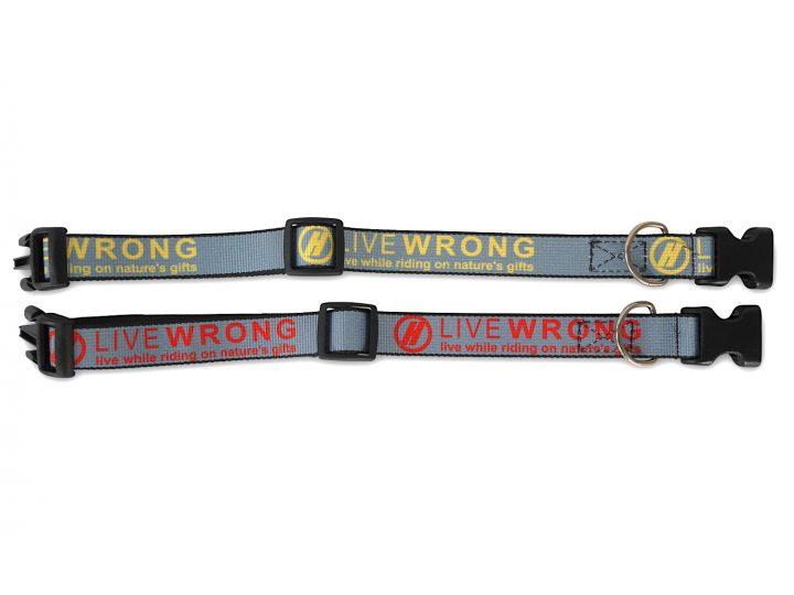 LIVE W.R.O.N.G. Dog Collar-1250