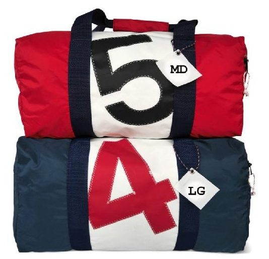 RS Square Duffle with Sail Number